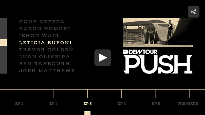 PUSH – Leticia Bufoni | Episode 3