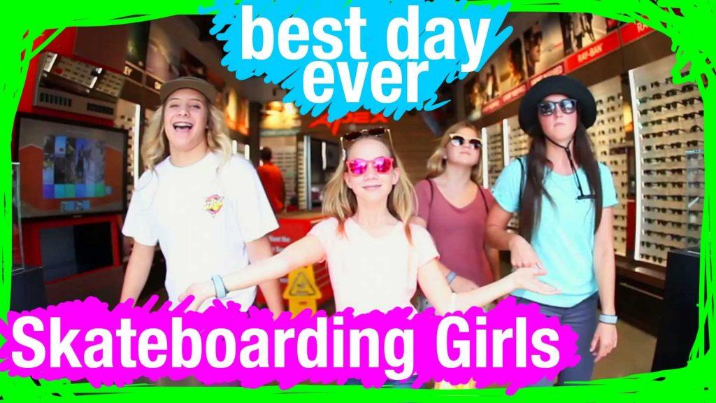 Skateboarding Girls at Walt Disney World | WDW Best Day Ever