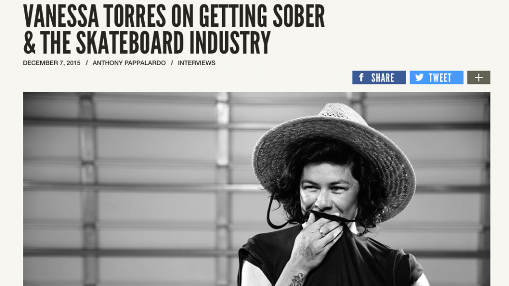 Jenkem | Vanessa Torres on Getting Sober & the Skateboard Industry