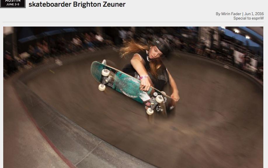ESPN |11-year-old Brigton Zeuner