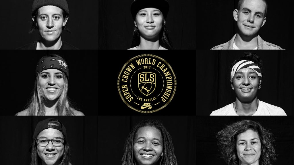 2017 SLS Women's Super Crown Line Up