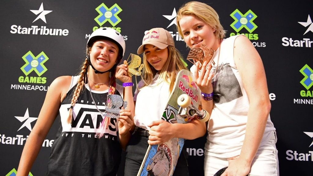 X Games Women's Park Final Results 2017
