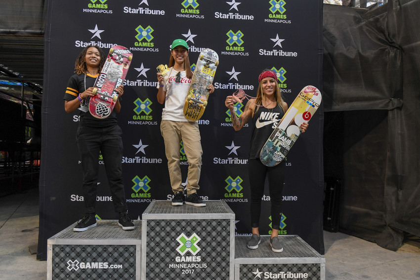X Games Women's Street Results 2017