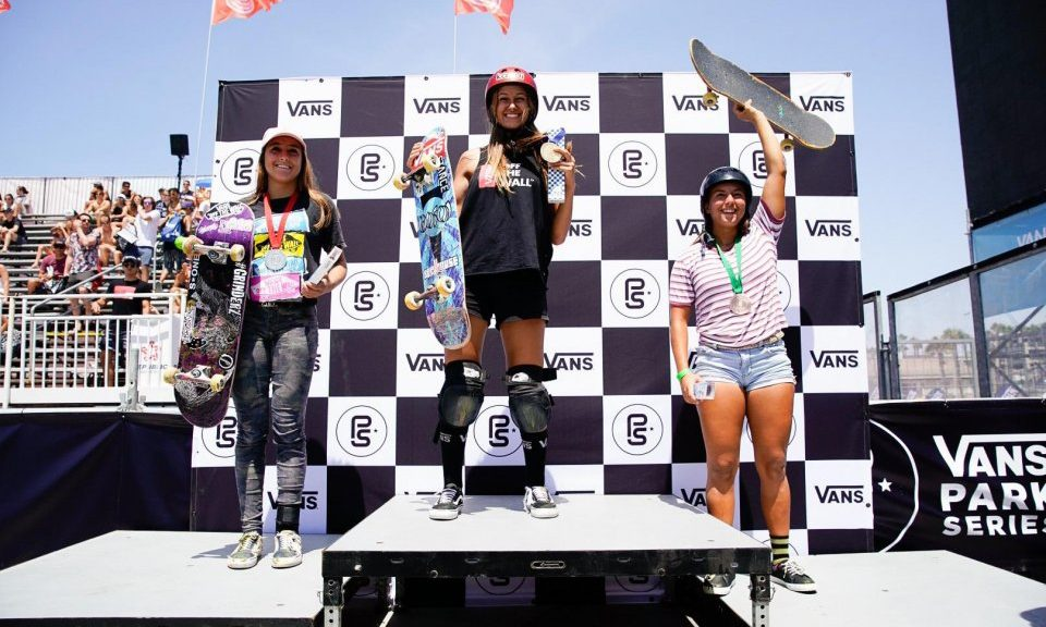 Vans Park Series Americas Continental Results 2018