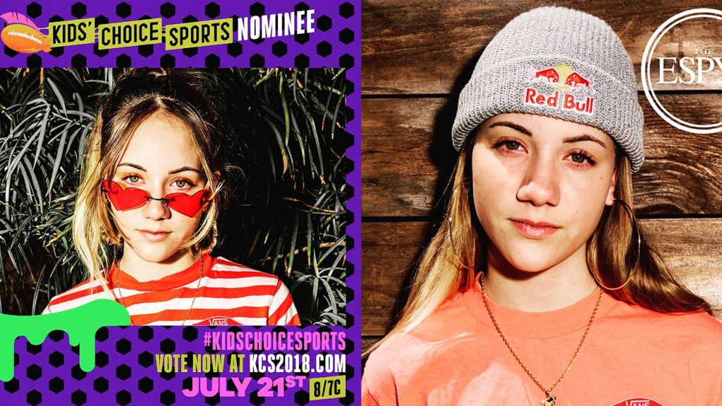 Kids' Choice Sports & ESPYS Nominee | Brighton Zeuner