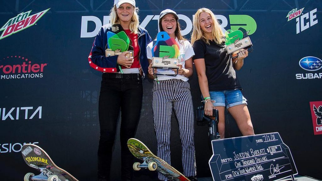Dew Tour Pro Women's Park Results 2018