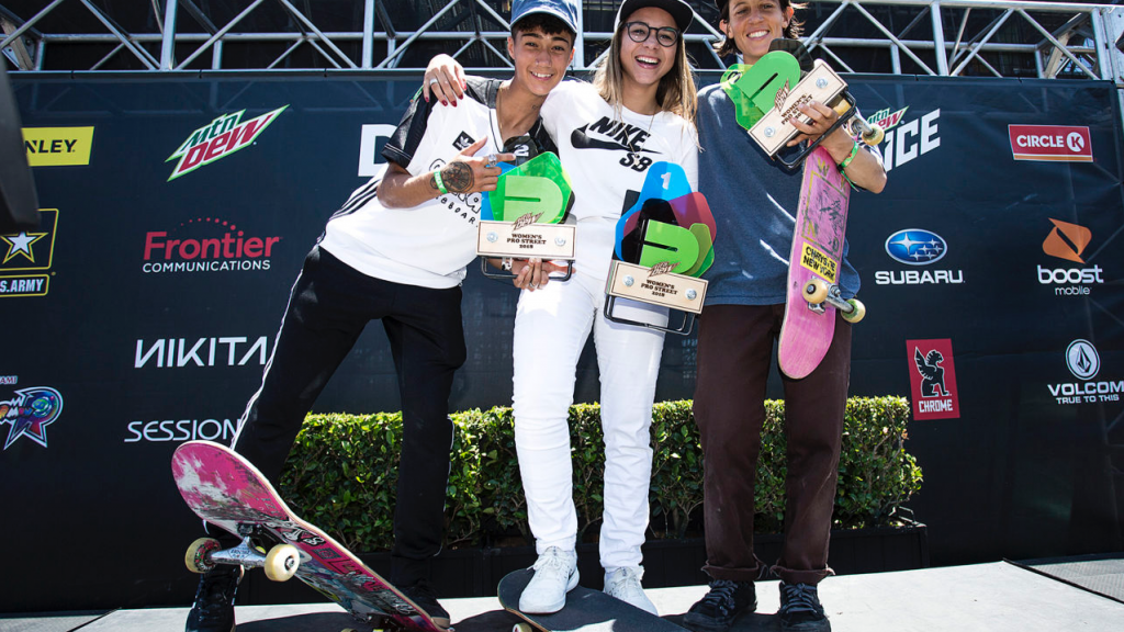 Dew Tour Pro Women's Street Results 2018