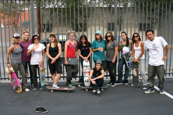 Girls Session At The Berrics