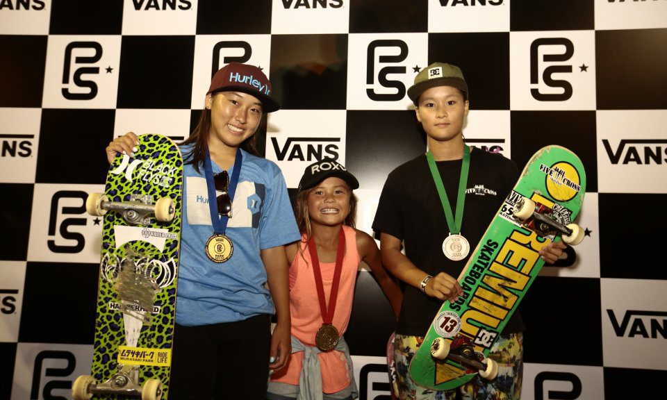 Vans Park Series Asia Continental Championships Results 2017