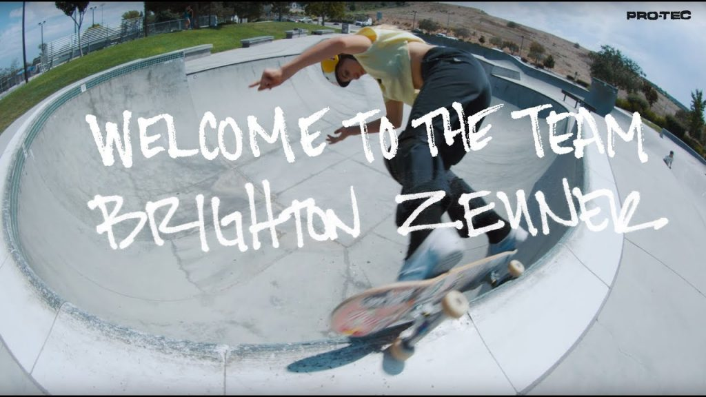Pro-Tec | Brighton Zeuner Welcome to the Team