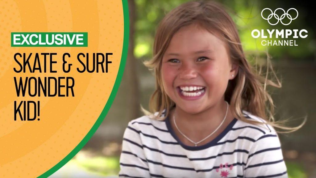 Surf and Skate Wonder Kid Sky Brown eyeing Tokyo 2020