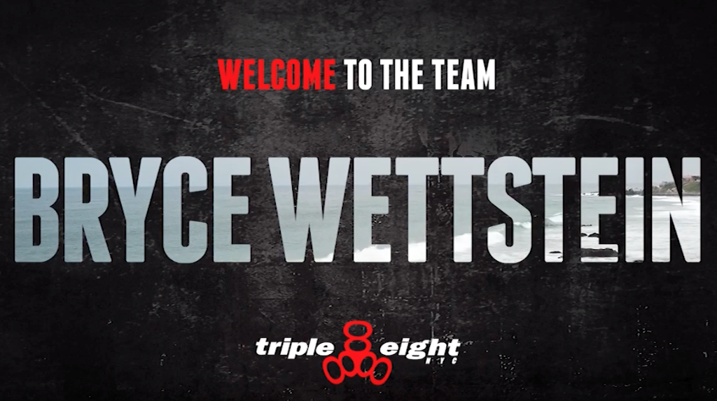 Triple Eight | Welcome Bryce Wettstein