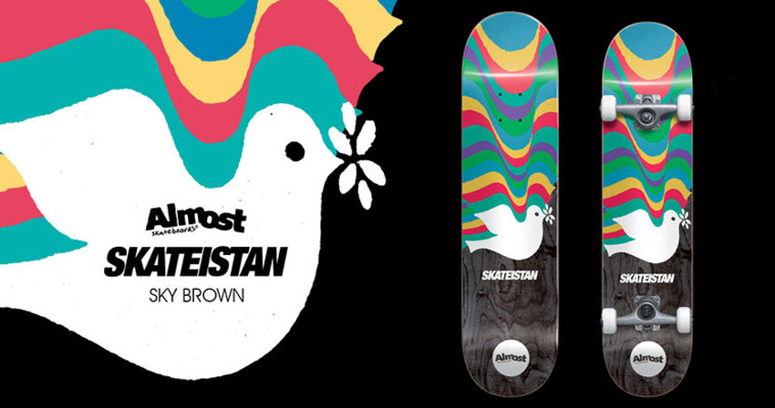 Almost Skateboards & Sky Brown x Skateistan
