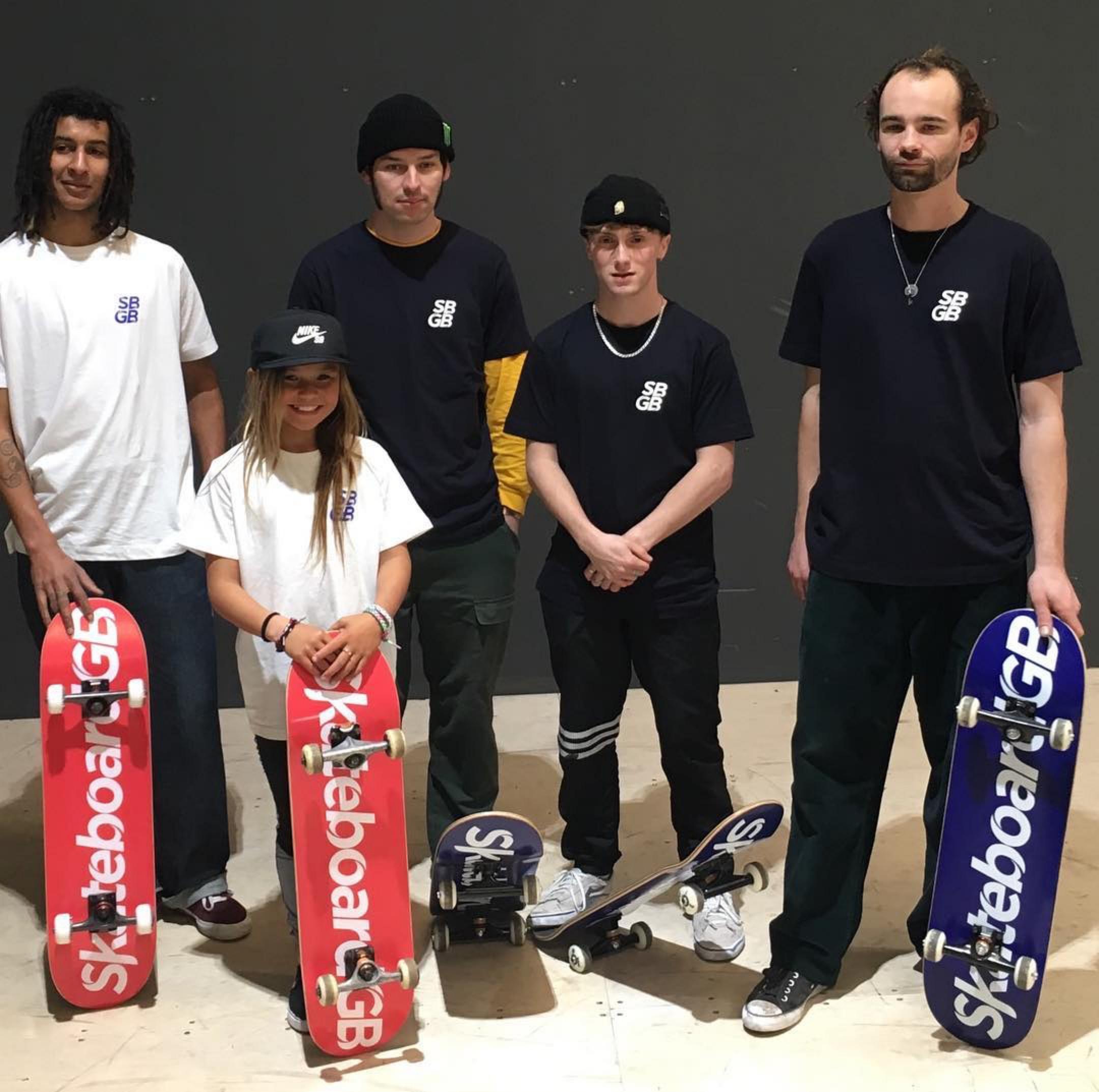 British Skateboard Olympic Team