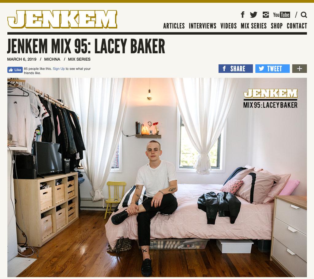 Jenkem Mix 95 Lacey Baker