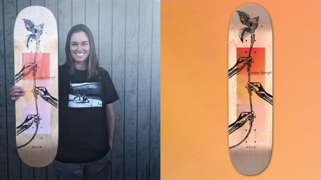 Meow Skateboards | Mimi Knoop Guest Pro