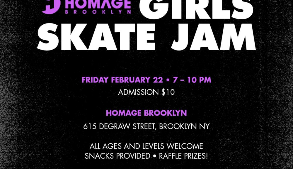 Quell Girls Skate Jam