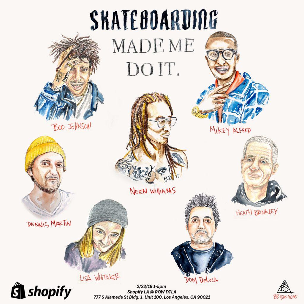 Shopify Skateboarding Made Me Do It