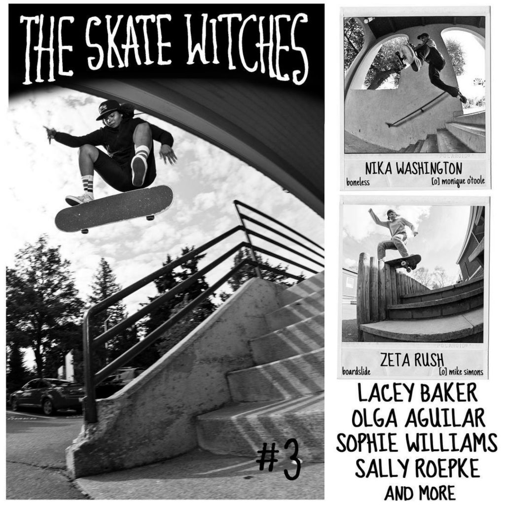 The Skate Witches Zine 3