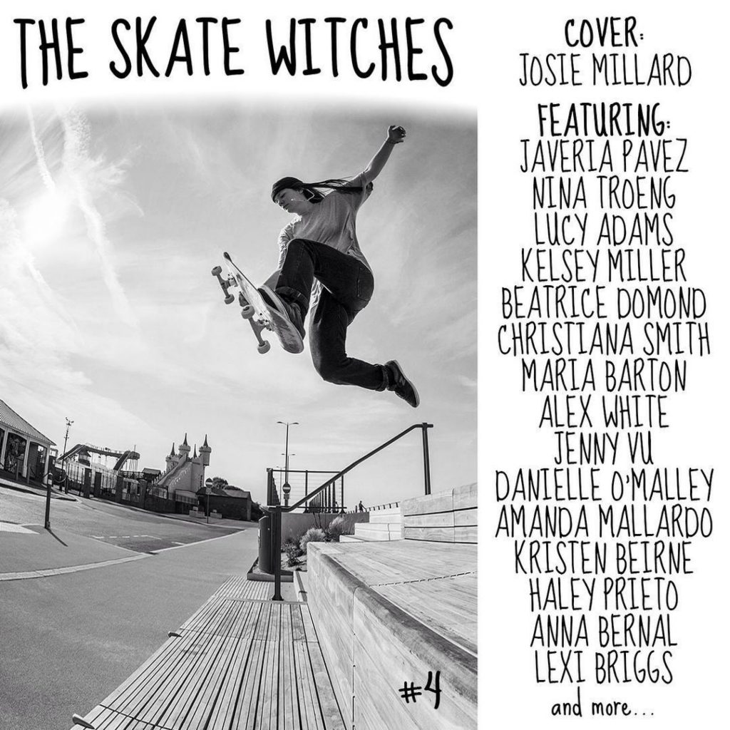 The Skate Witches Zine 4