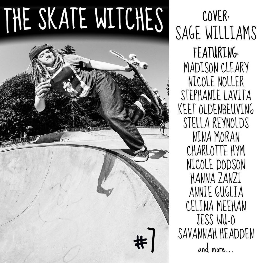 The Skate Witches Zine 7