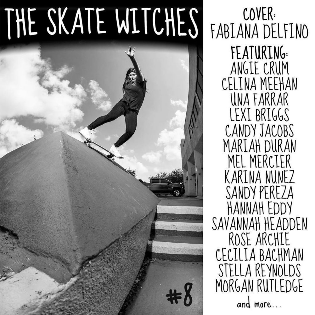 The Skate Witches Zine 8