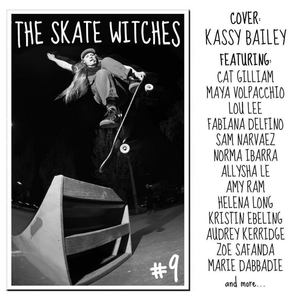 The Skate Witches Zine 9
