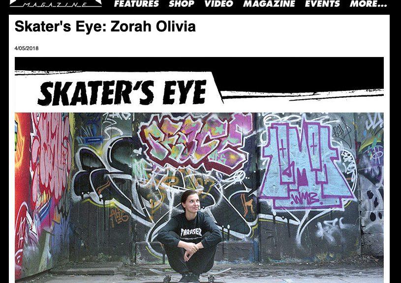 Thrasher | Skater's Eye: Zorah Olivia