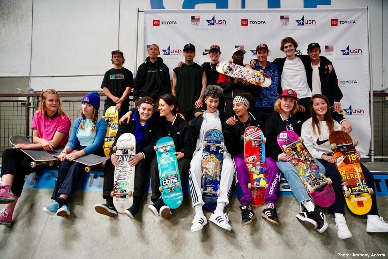 USA Skateboarding National Team