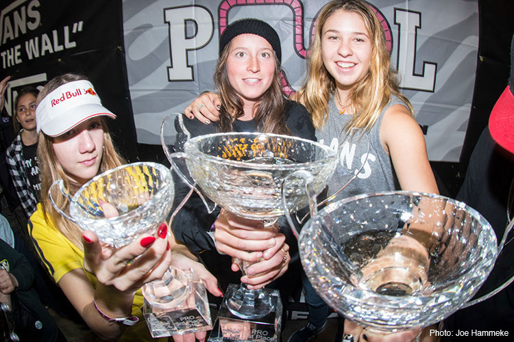 Vans Girls Combi Pool Classic Results 2018