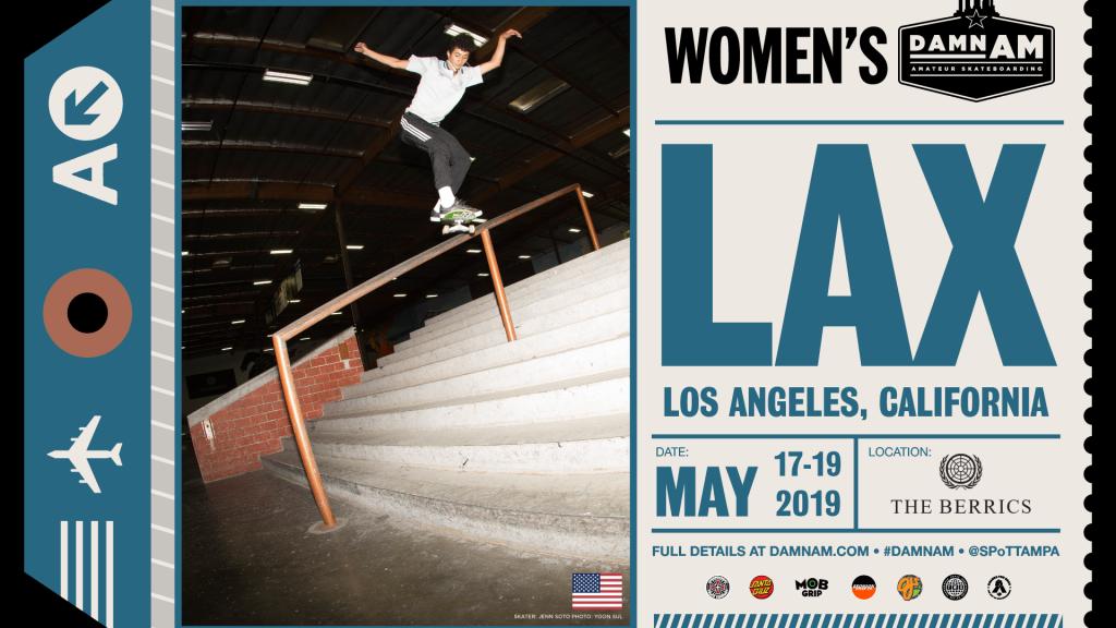 Damn Am LA Womens