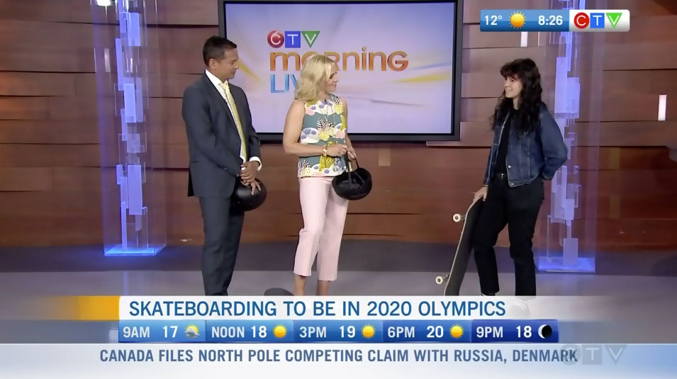 Breana Geering on Good Morning Vancouver