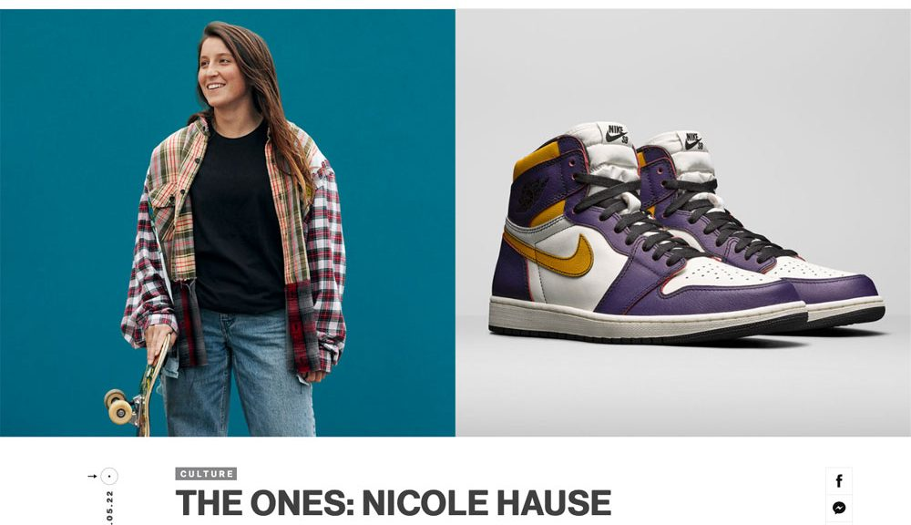 Air Jordan The Ones | Nicole Hause