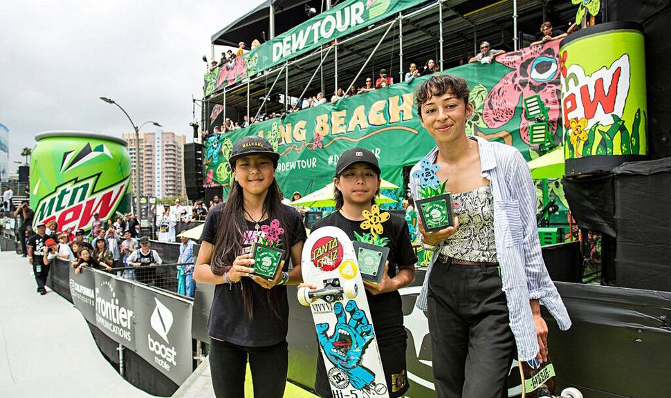 Dew Tour Women's Park Results 2019