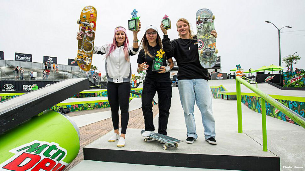 Dew Tour Women's Street Results 2019