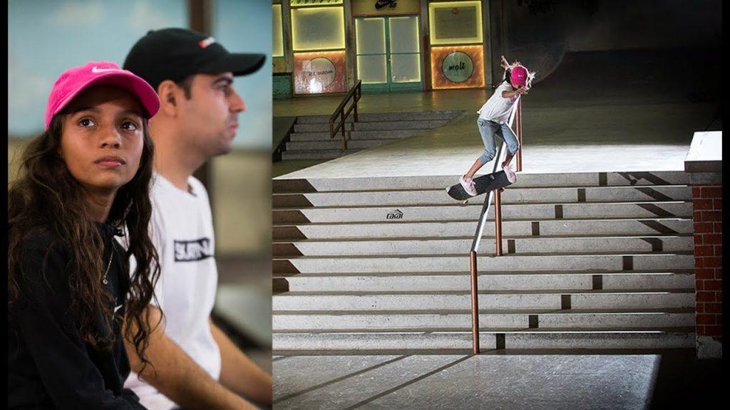 Berrics | 11-Year-Old Skateboard Prodigy Rayssa Leal