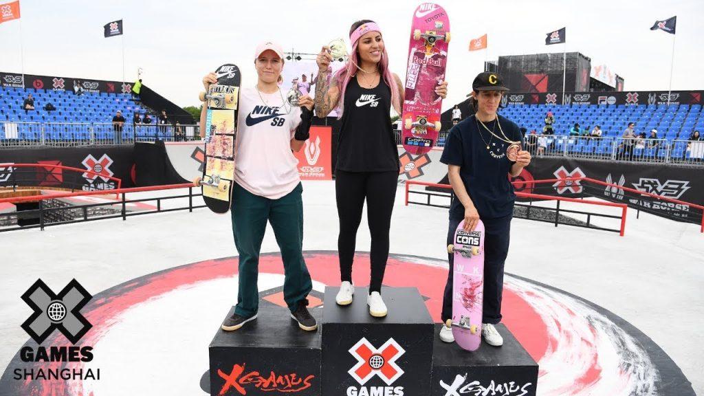 X Games | Shanghai Women's Street Medal Runs