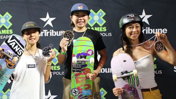X Games Women's Park Results 2019