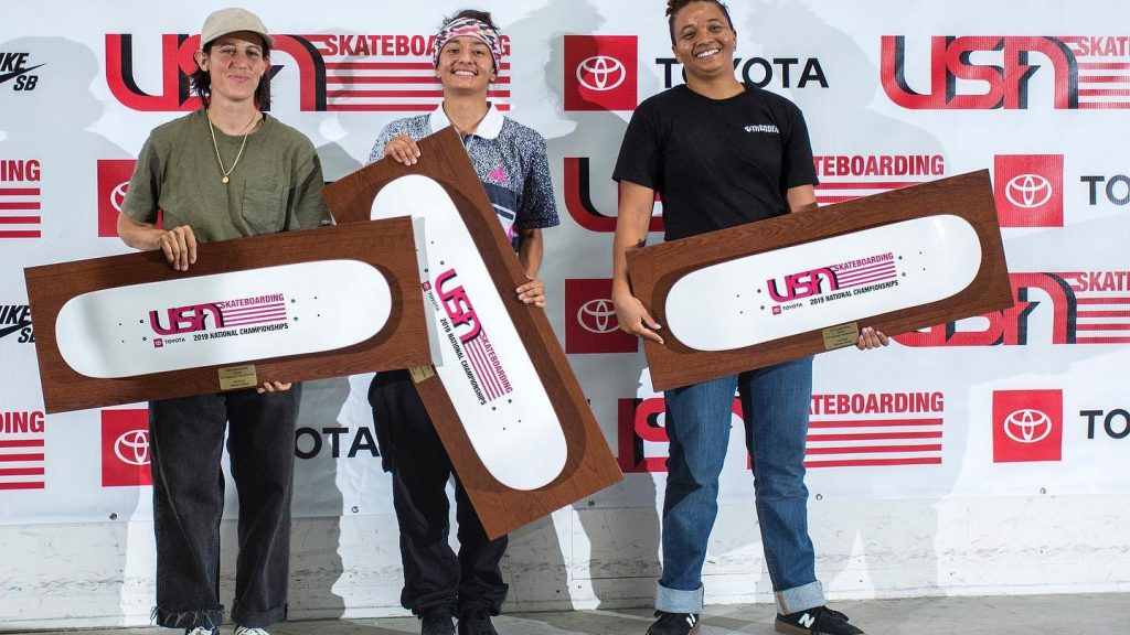 USA Skateboarding National Championships Results 2019