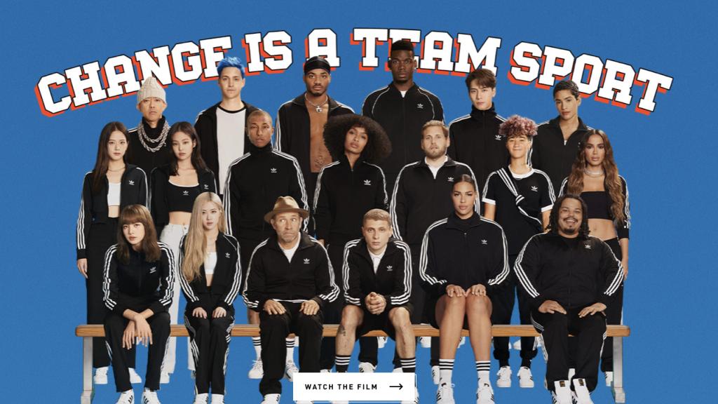 Adidas | Change is a Team Sport