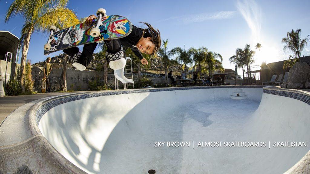 Almost Skateboards | Sky Brown x Skateistan