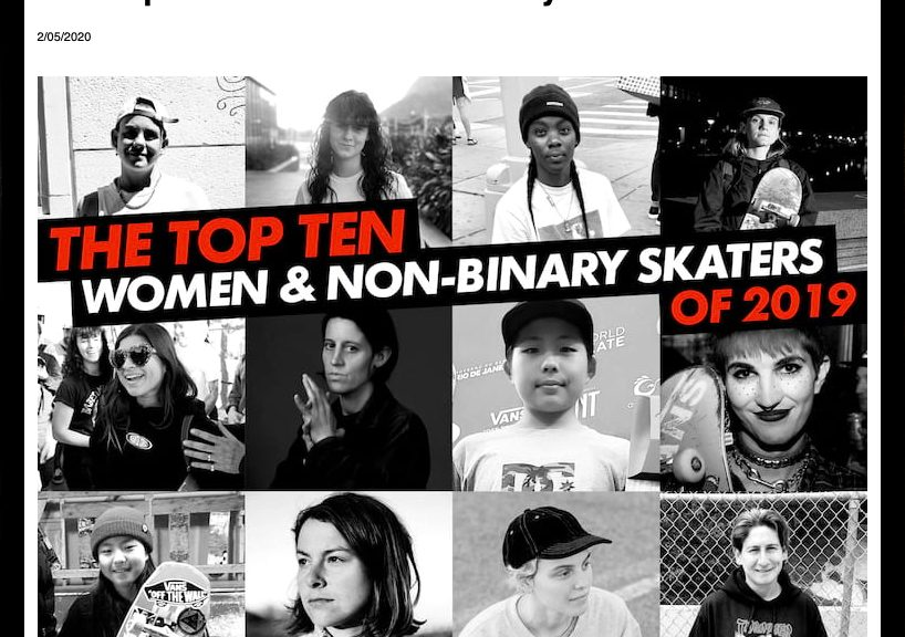 Thrasher | Top 10 Women & Non-Binary 2019