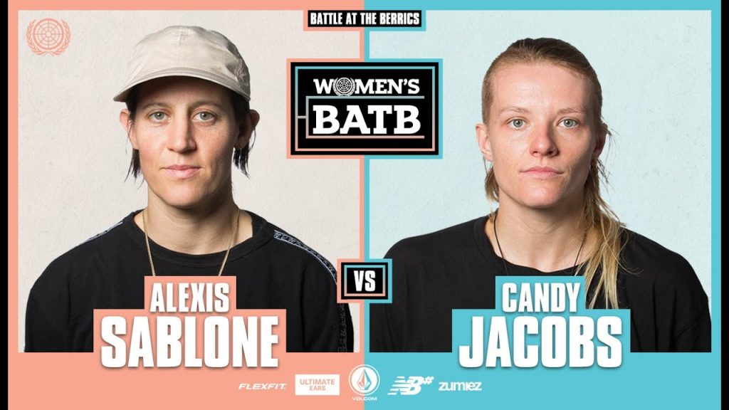 WBATB Round 2 | Alexis Sablone vs. Candy Jacobs