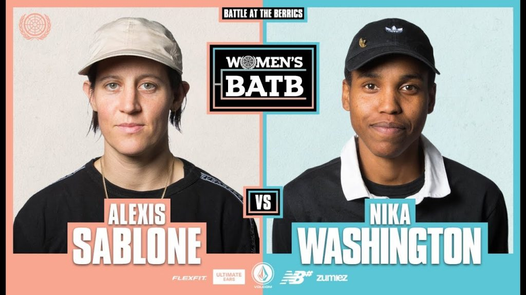 WBATB Round 1 | Alexis Sablone vs. Nika Washington