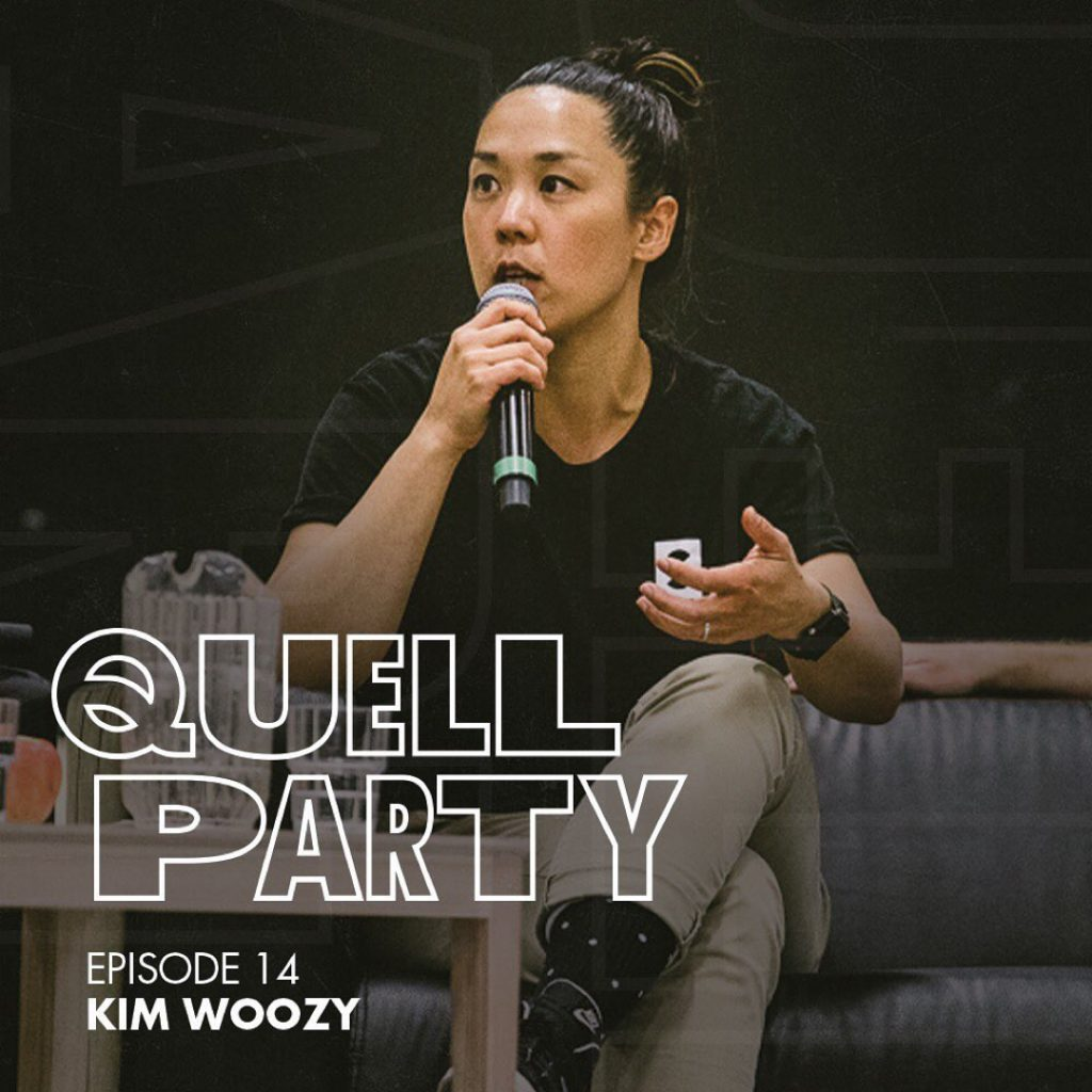Quell Party Kim Woozy