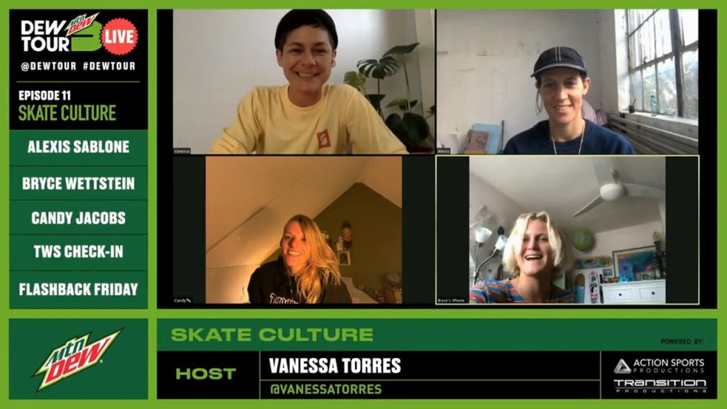 Dew Tour Live | Vanessa, Alexis, Bryce & Candy