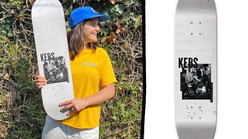 Meow Skateboards | Kristin Ebeling is Pro!