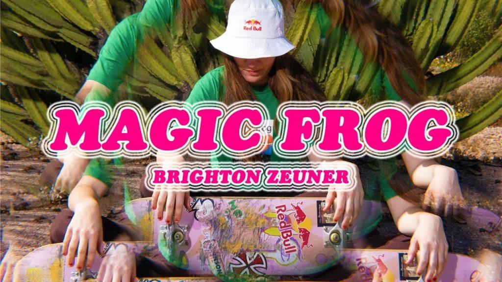 "Red Bull | Brighton Zeuner ""Magic Frog"""