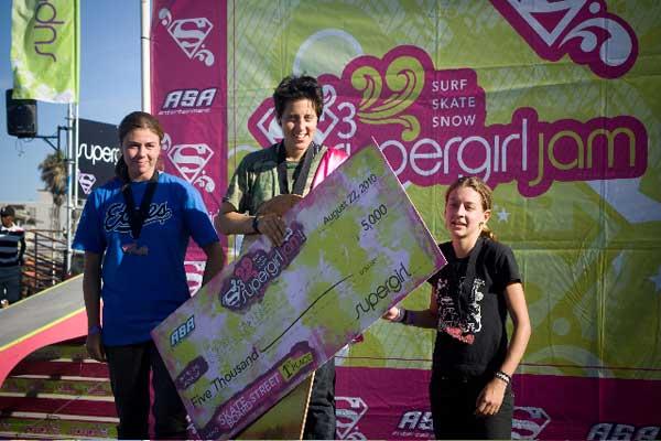 Supergirl Jam Venice Results 2010