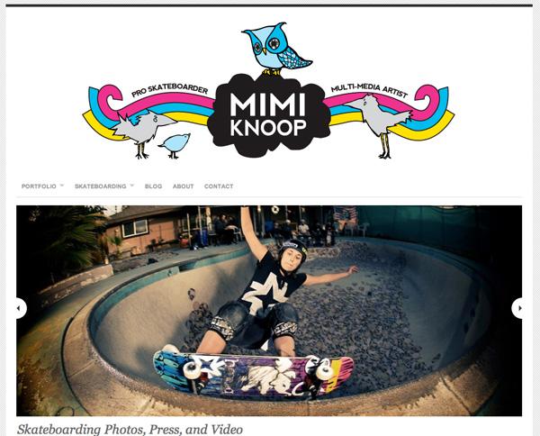 New Sites: Mimi Knoop & Hoopla